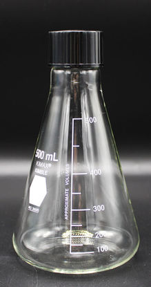 Picture of FK-264 - 500 ml Screw Cap Erlenmeyer Flask (FK264)