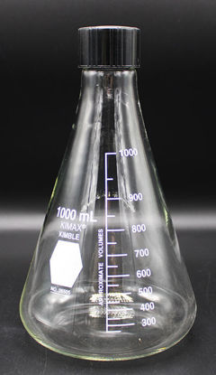 Picture of FK-265 - 1000 ml Screw Cap Erlenmeyer Flask (FK265)