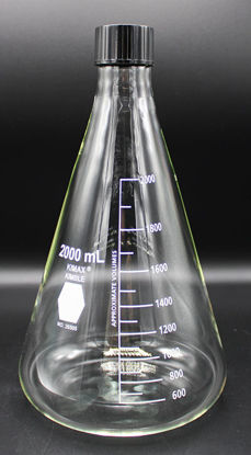Picture of FK-266 - 2000 ml Screw Cap Erlenmeyer Flask (FK266)