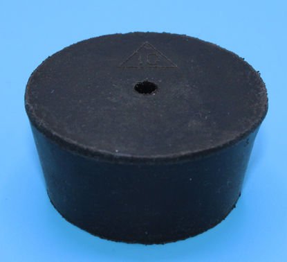 Picture of R-10A - Size 10 1-Hole Rubber Stopper (R10A)