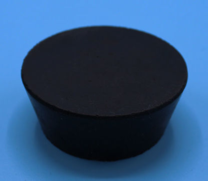 Picture of R-11.5 - Size 11.5 No-Holes Rubber Stopper (R11.5)