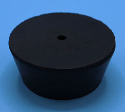 Picture of R-11.5A - Size 11.5 1-Hole Rubber Stopper (R11.5A)