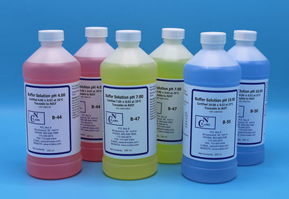 Picture of 6 x 500 ml - BUF-SET - pH Buffer Solution Calibration Set, pH 4.0, 7.0, 10.0 (BUFSET)