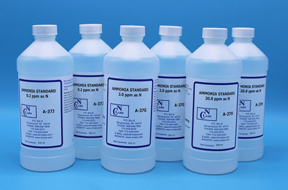 Picture of 6 x 500 ml - NH3-SET - Ammonia Standard Set, 0.2, 2.0, and 20 ppm (NH3SET)