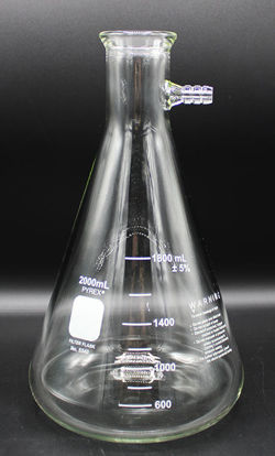 Picture of EA - FK-802 - 2000 ml Glass Suction Flask, Kimax (FK802)