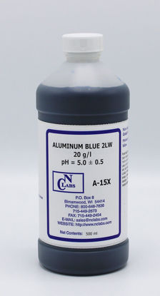 Picture of A-15X - Aluminum Blue 2LW, 20 g/l, pH 5.0, ASTM B-136-77 (A15X)