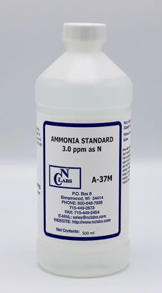 Picture of A-37M - Ammonia Standard, 3.0 ppm as N (A37M)