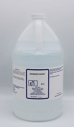 Picture of D-1 - Deionized Water (D1)