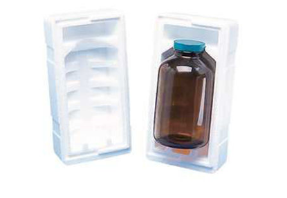 Picture of CP-393 - Styrofoam Shipper for Quart Round Bottle (CP393)
