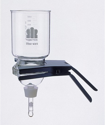 Picture of EA - FK-953 - Complete Kimble Glass Filter Funnel Assembly for 90 mm Filters (FK953)