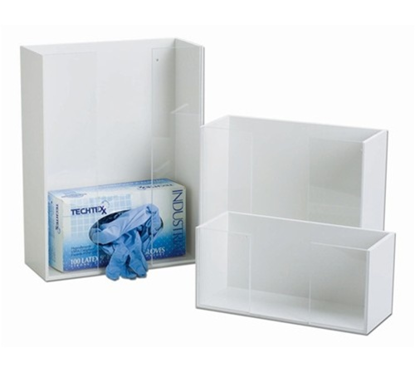 Picture of EA - HG-262 - Acrylic Glove Box Holder, Double (HG262)