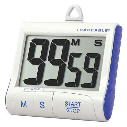 Picture of EA - CC-5135 - Traceable Extra-Large Digit Digital Timer with Calibration (CC5135)