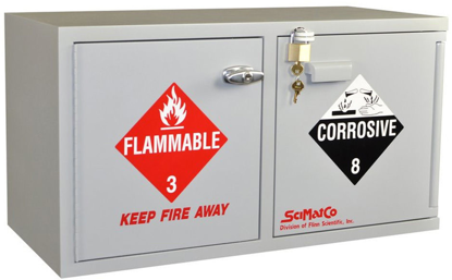 Picture of EA - SC-904 - Bench Acids/Flammables Combo Storage Cabinet (SC904)