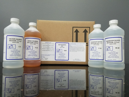 Picture of B-99 - BOD Nutrient Set, 4 x 500 ml (B99)